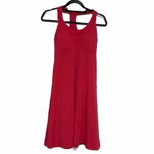 Prana Cali Dress W31170176 in Pink Sz SM EUC